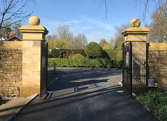 Bespoke stone for luxury property development - gateway